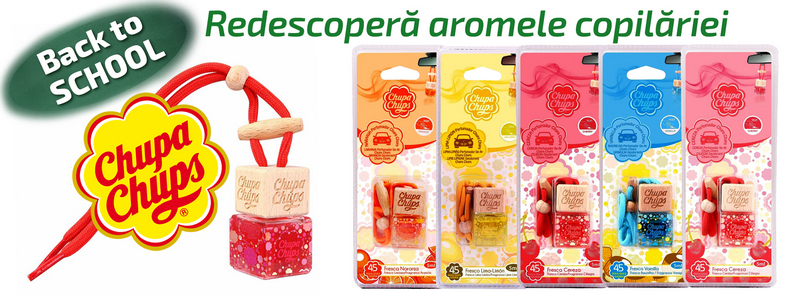 Back to School! Redescopera aromele copilariei: Chupa Chups!
