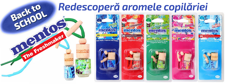 Back to School! Redescopera aromele copilariei: Mentos!
