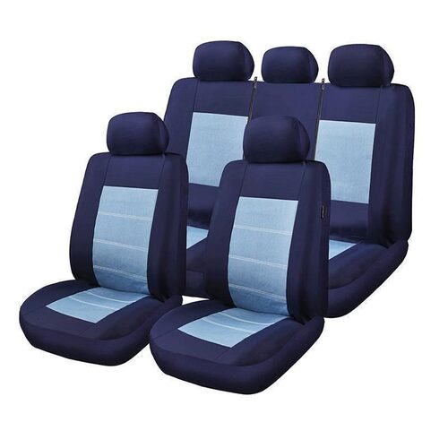 Huse Scaune Auto Land-Rover Range Rover Sport Blue Jeans Rogroup 9 Bucati