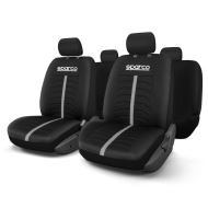 Huse Scaune Auto Ford Expedition - Sparco Grey Stripe 11 Buc